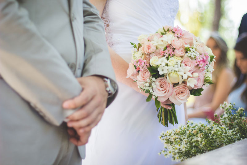 bodas íntimas y sencillas