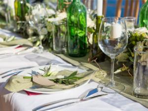 tendencias bodas decoración rústica