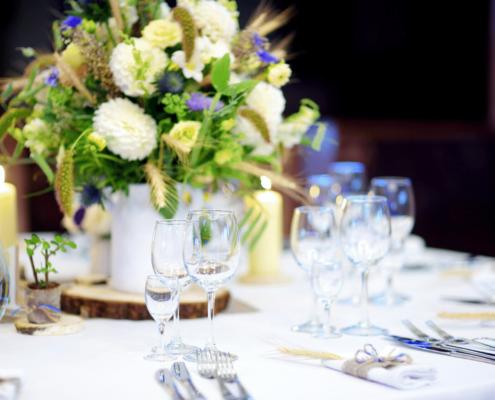 menú para bodas