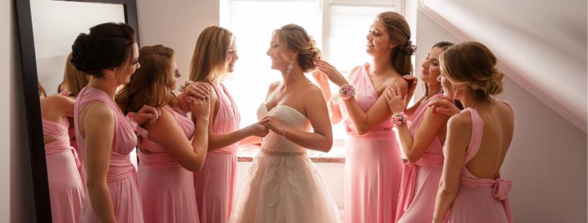 damas de honor para bodas